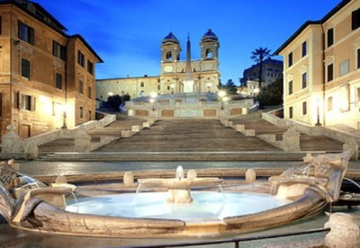 Spanish Steps- Accessed 1st Feb 2016